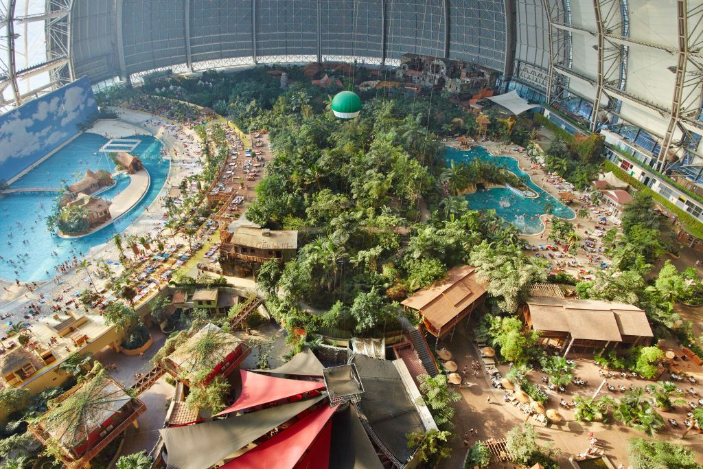 Ueberblick Tropical Islands